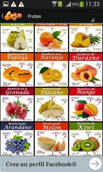 Los beneficios de las frutas screenshot 3