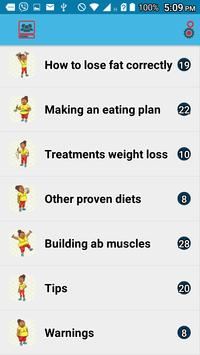 Lose weight wisely poster