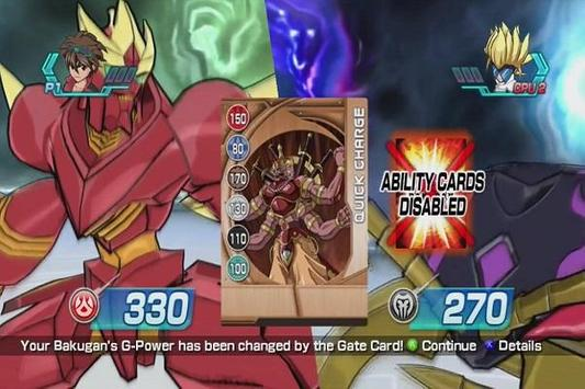 Bakugan Battle Brawlers Hint screenshot 2