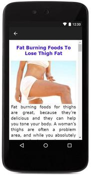 Losing Thigh Fat screenshot 4