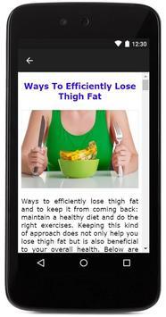 Losing Thigh Fat screenshot 6
