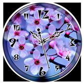 Cherry Blossom Clock Live WP icon