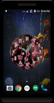 Cherry Blossom Clock Live WP poster