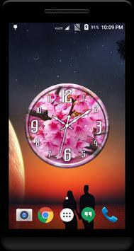 Cherry Blossom Clock Live WP screenshot 3