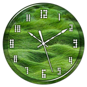 Grass Clock Live Wallpaper icon