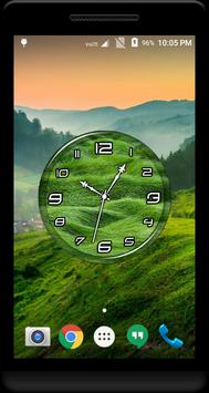 Grass Clock Live Wallpaper poster