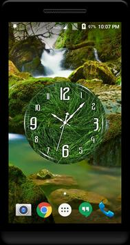 Grass Clock Live Wallpaper apk screenshot