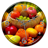 Fruits Clock Live Wallpaper icon