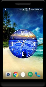 Ice Clock Live Wallpaper apk screenshot