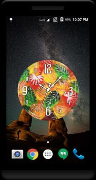 Jelly Clock Live Wallpaper apk screenshot