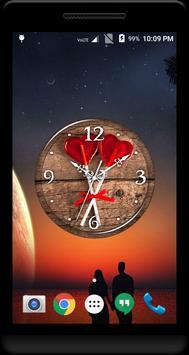 Lollipop Clock Live Wallpaper apk screenshot