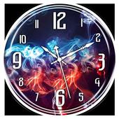 Smoke Clock Live Wallpaper icon