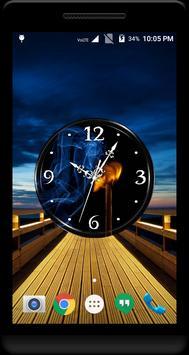 Smoke Clock Live Wallpaper screenshot 1