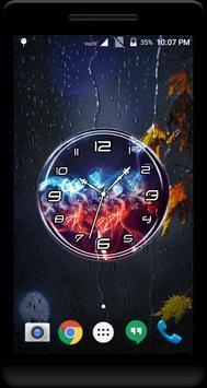 Smoke Clock Live Wallpaper screenshot 2
