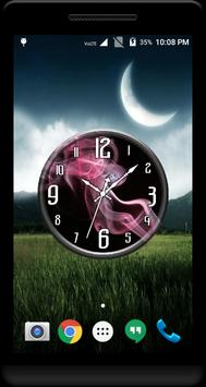 Smoke Clock Live Wallpaper screenshot 3