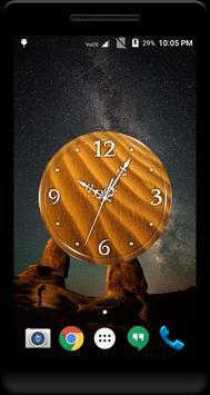 Sand Clock Live Wallpaper poster
