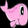 ballena rosa icon