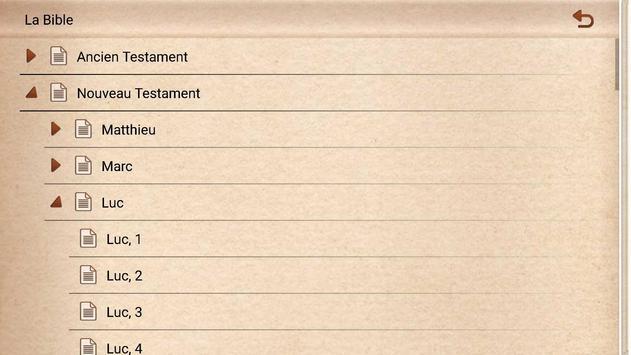 La Bible en Français, Louis Segond apk screenshot