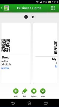 QR Droid Private™ (Nederlands) screenshot 2
