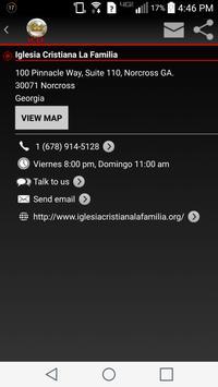 Iglesia Cristiana La Familia apk screenshot