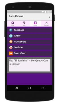 Latin Groove apk screenshot