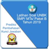 Latihan UNBK SMP 2019 Soal & Pembahasan biểu tượng