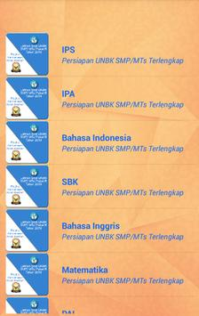 Latihan UNBK SMP 2019 Soal & Pembahasan ảnh chụp màn hình 3