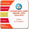 Latihan UNBK SMA IPS 2019 Soal & Pembahasan icon