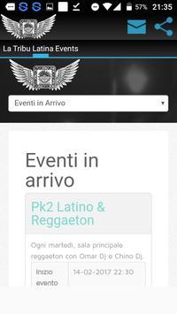 La Tribu Latina Events apk screenshot