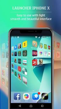 Launcher style Phone X - Launcher Phone 8 Plus screenshot 1