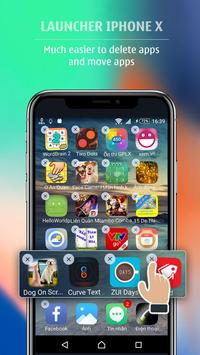 Launcher style Phone X - Launcher Phone 8 Plus screenshot 2