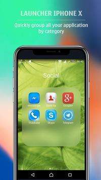 Launcher style Phone X - Launcher Phone 8 Plus screenshot 3