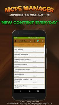 Launcher MCPE Manager for Minecraft PE Master for Android
