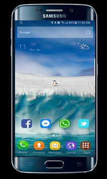 Launcher & Theme Samsung Galaxy A8 poster