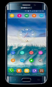 Theme Samsung Galaxy A7 Launcher screenshot 1