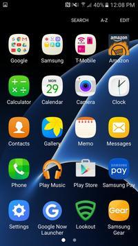 S7 Edge Plus Theme Icon Pack poster