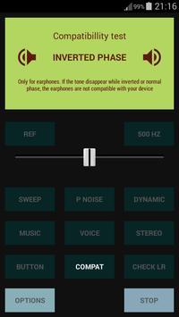 Earphones Test+ apk screenshot