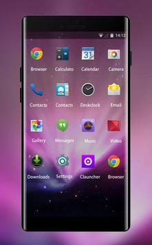 Theme for Lava Pixel V2 HD: Galaxy Skins for Android - APK