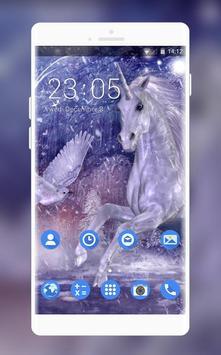 Theme for Lava A16 Unicorn HD Wallpaper poster
