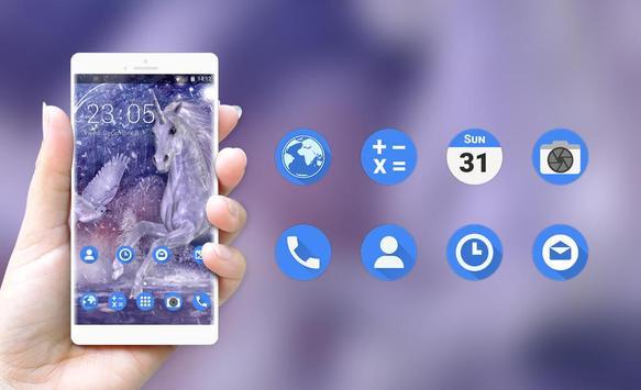 Theme for Lava A16 Unicorn HD Wallpaper screenshot 3