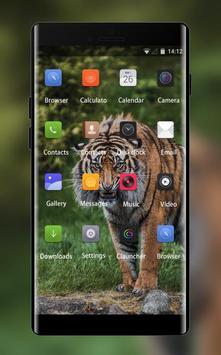 Theme for Lava C41 Tiger Wallpaper screenshot 1