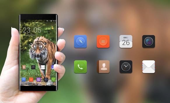 Theme for Lava C41 Tiger Wallpaper screenshot 3