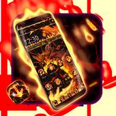 Fire Dragon Lava Theme icon