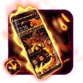 Fire Dragon Lava Theme icon