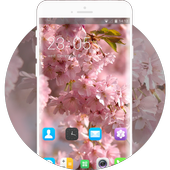 Theme for Lava Iris 250 Pink Wallpaper icon