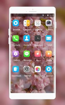 Theme for Lava Iris 250 Pink Wallpaper screenshot 1