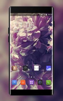 Theme for Lava Iris 349i Peonies wallpaper poster