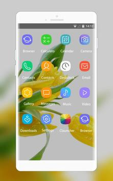 Theme for Lava Iris 404e Tulips Wallpaper screenshot 1