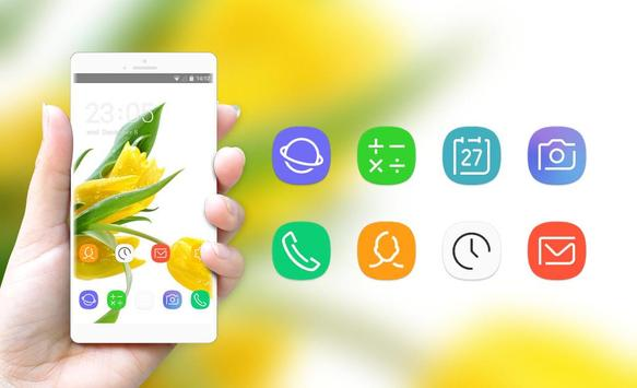 Theme for Lava Iris 404e Tulips Wallpaper screenshot 3