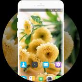Theme for Lava Iris 410 Flower Bouquet Wallpaper icon
